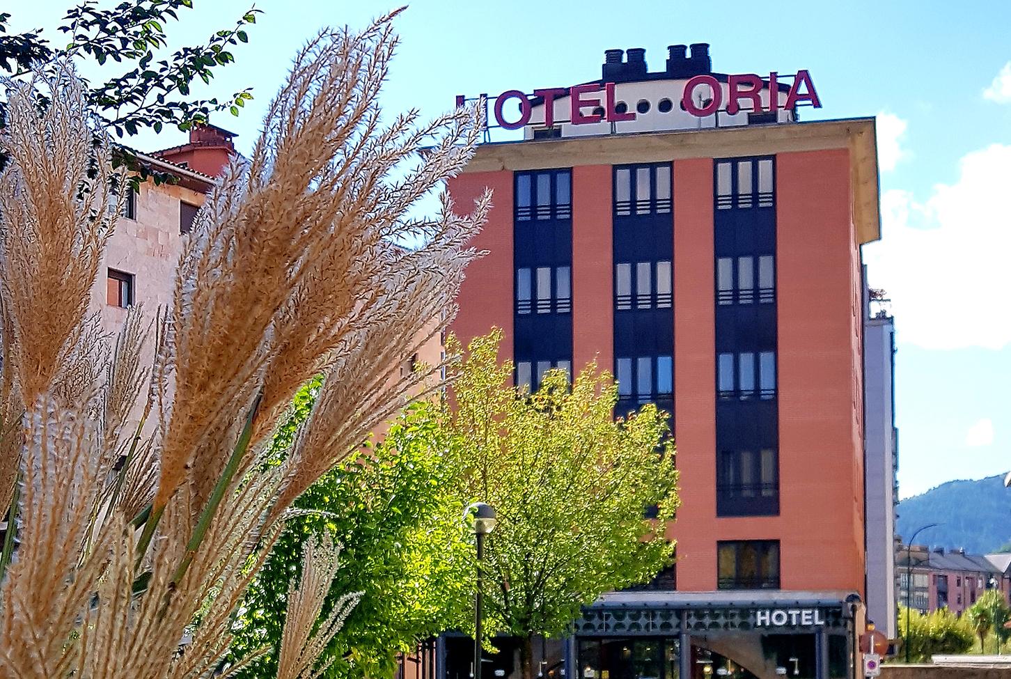 Fachada principal, Hotel Oria de Tolosa